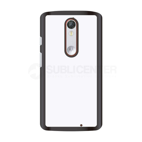 Carcasa / Funda para sublimar Motorola X Force / Droid Turbo 2 - HP - Color Negro - sublicenter.mx - Las mejores fundas, carcasas, case y/o cases de móviles / celulares  / telefónicas para impresión en sublimación y/o personalización al mejor precio garantizado, funda para sublimacion, case sublimacion, carcasa sublimacion. sublicenter.mx.