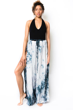 smoky quartz goddess wrap pants
