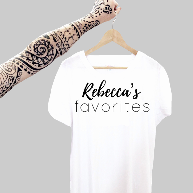 Custom Designs: Rebecca's Favorites