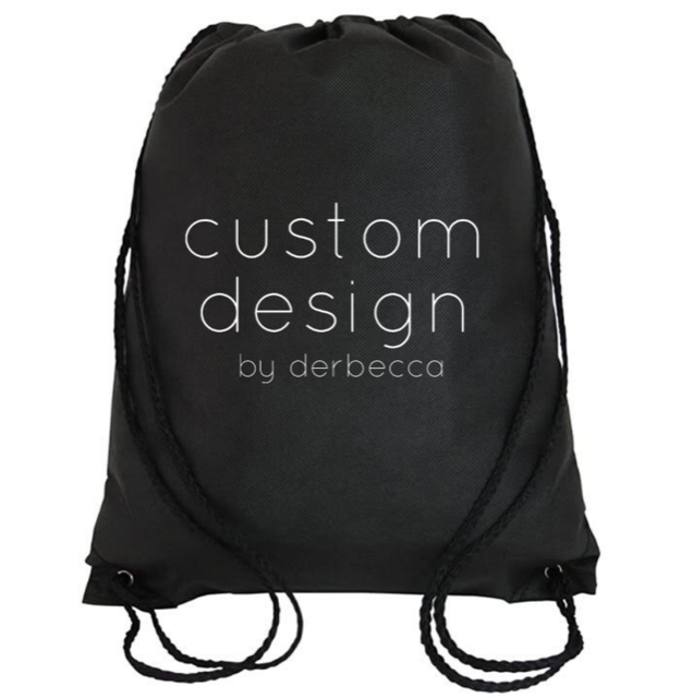 Cinch Bag: Custom Design