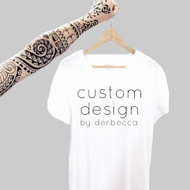 Custom Design: Adult Apparel