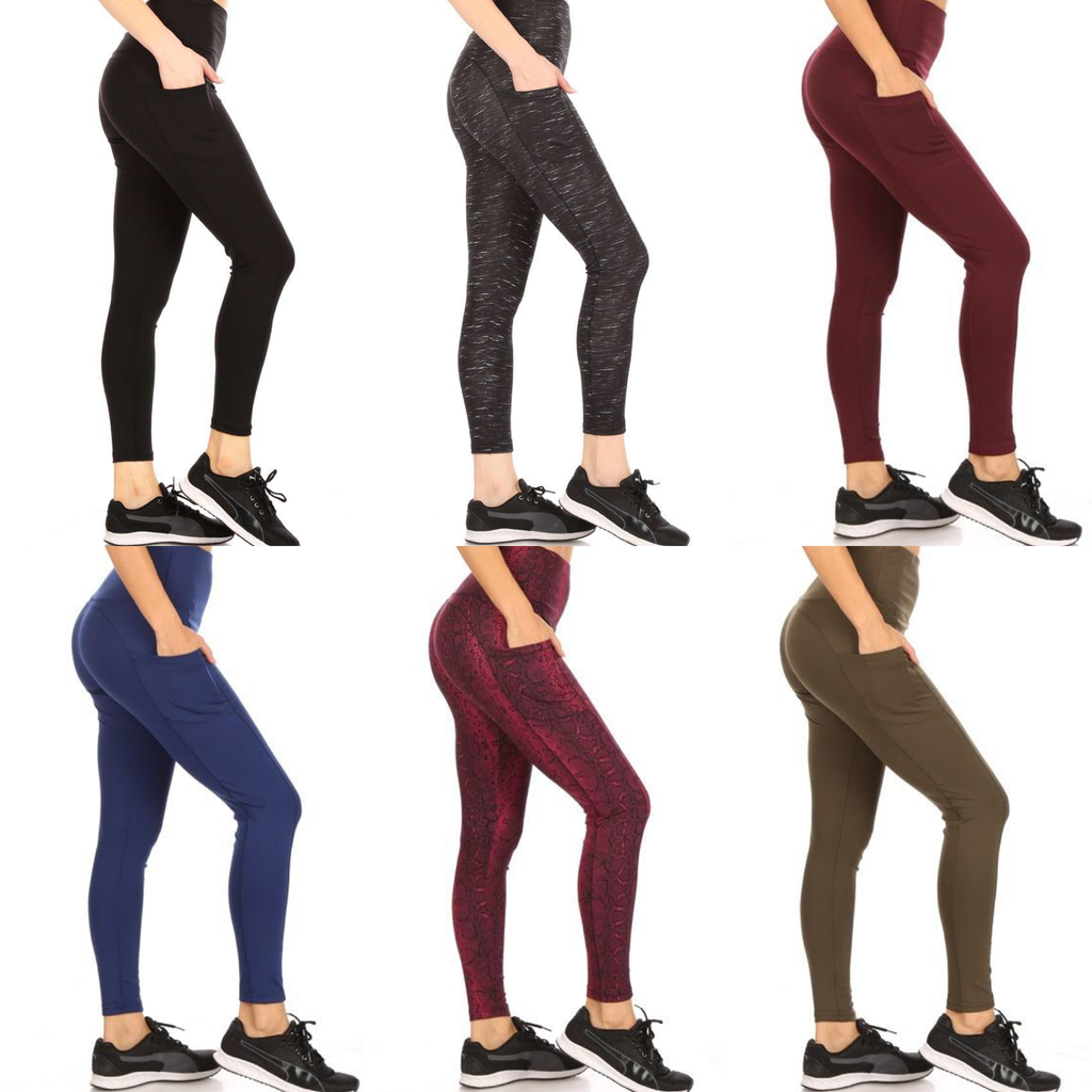 Athleisure Leggings with Pockets