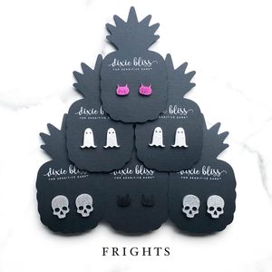 Dixie Bliss Earrings: Halloween Frights