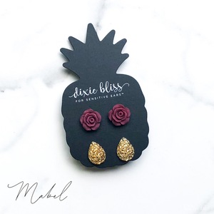 Dixie Bliss Earrings: Mabel