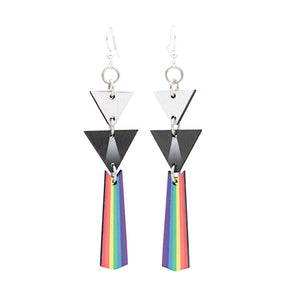 Wooden The Wall Earrings