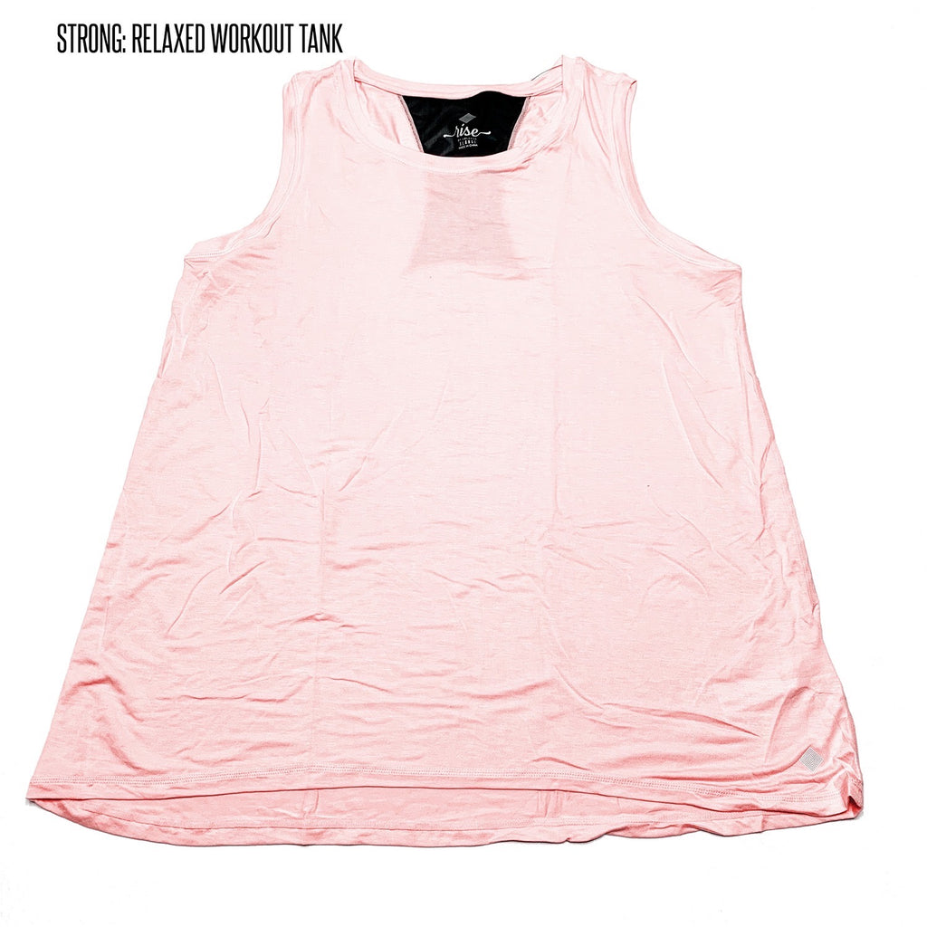 Strong Relaxed Fitness Tank 2XL Pink