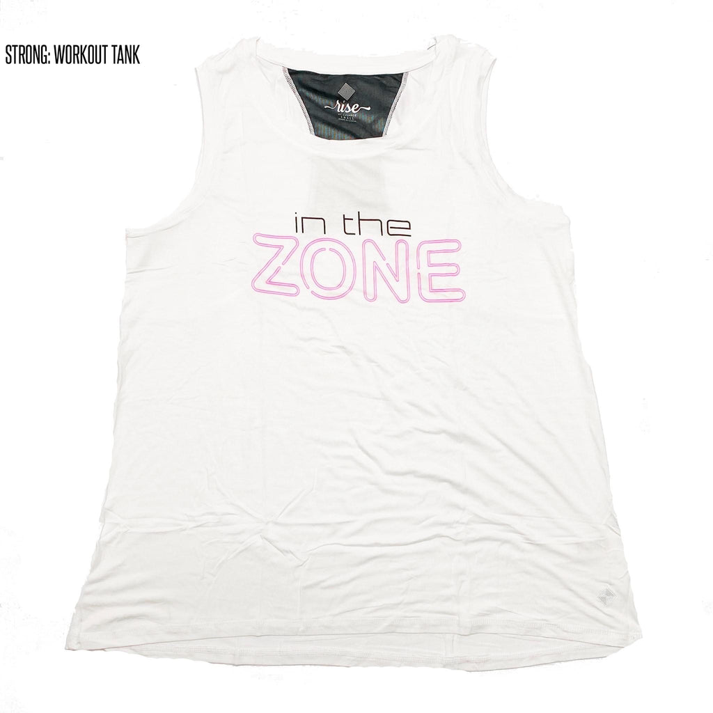 Strong Relaxed Fitness Tank 2XL In the Zone