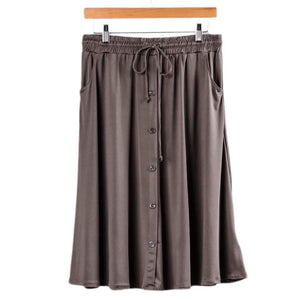 Marsha Skirt 3XL Grey Taupe