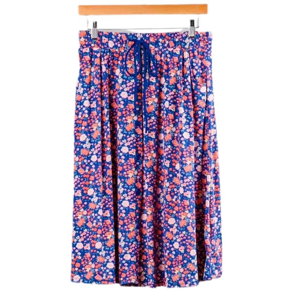 Marsha Skirt 2XL Purple Floral