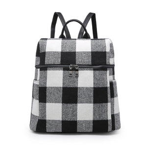Andi Pop of Plaid Backpack