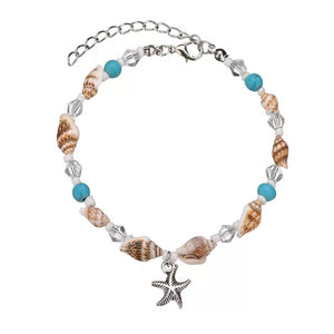 Starfish Shell Anklet