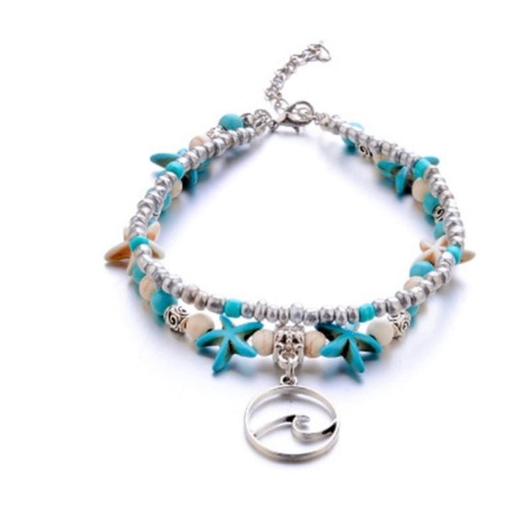 Starfish Wave Anklet