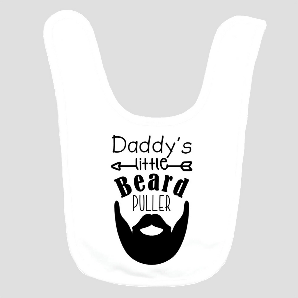 Baby Bib: Daddy's Little Beard Puller