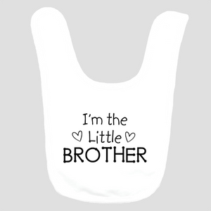 Baby Bib: I'm the Little Brother