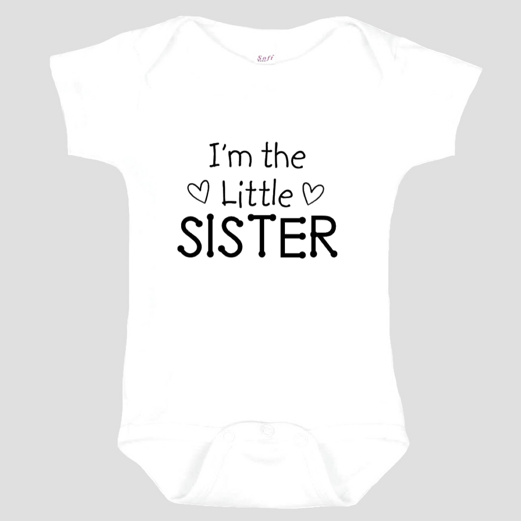 Baby Onesie: I'm the Little Sister
