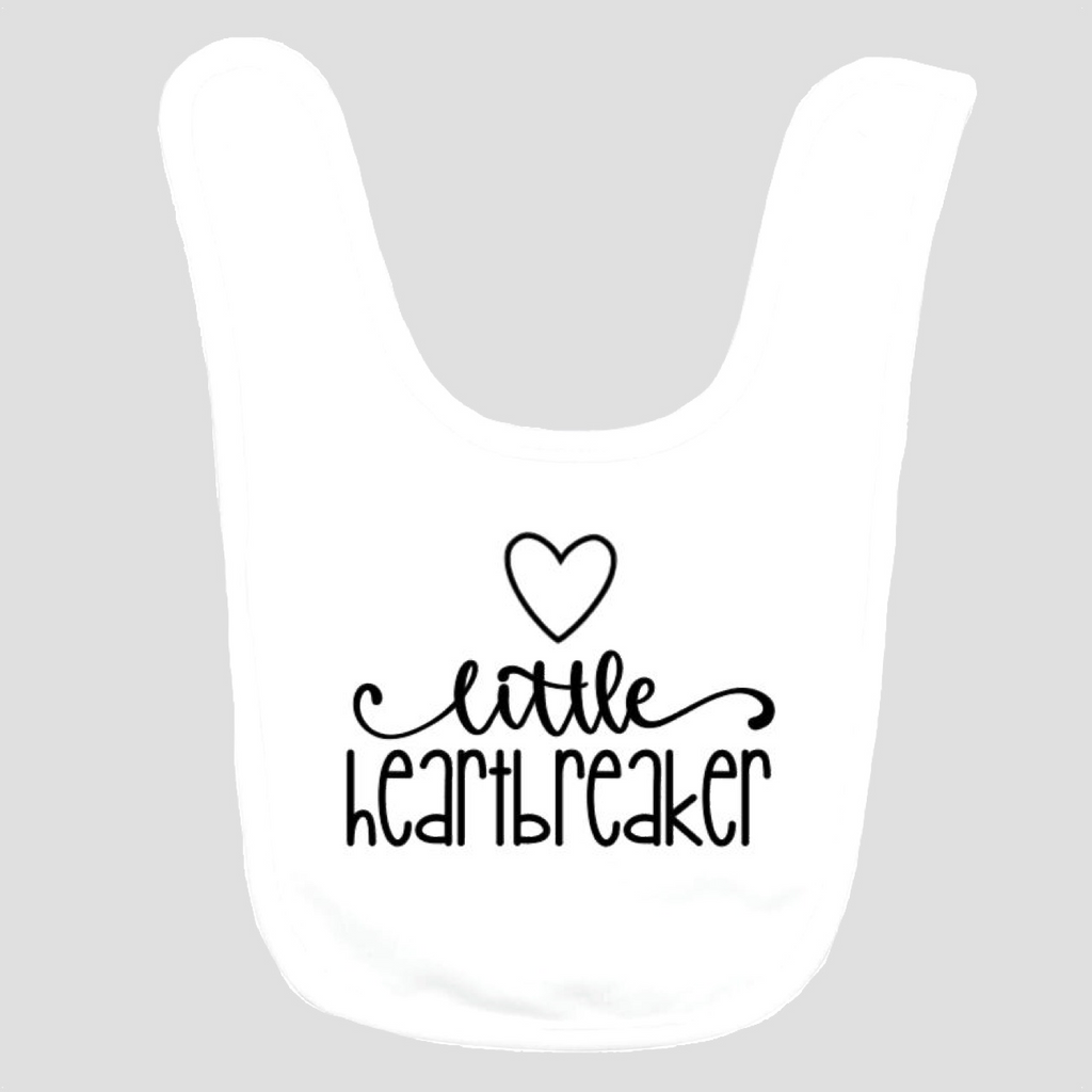 Baby Bib: Little Heartbreaker