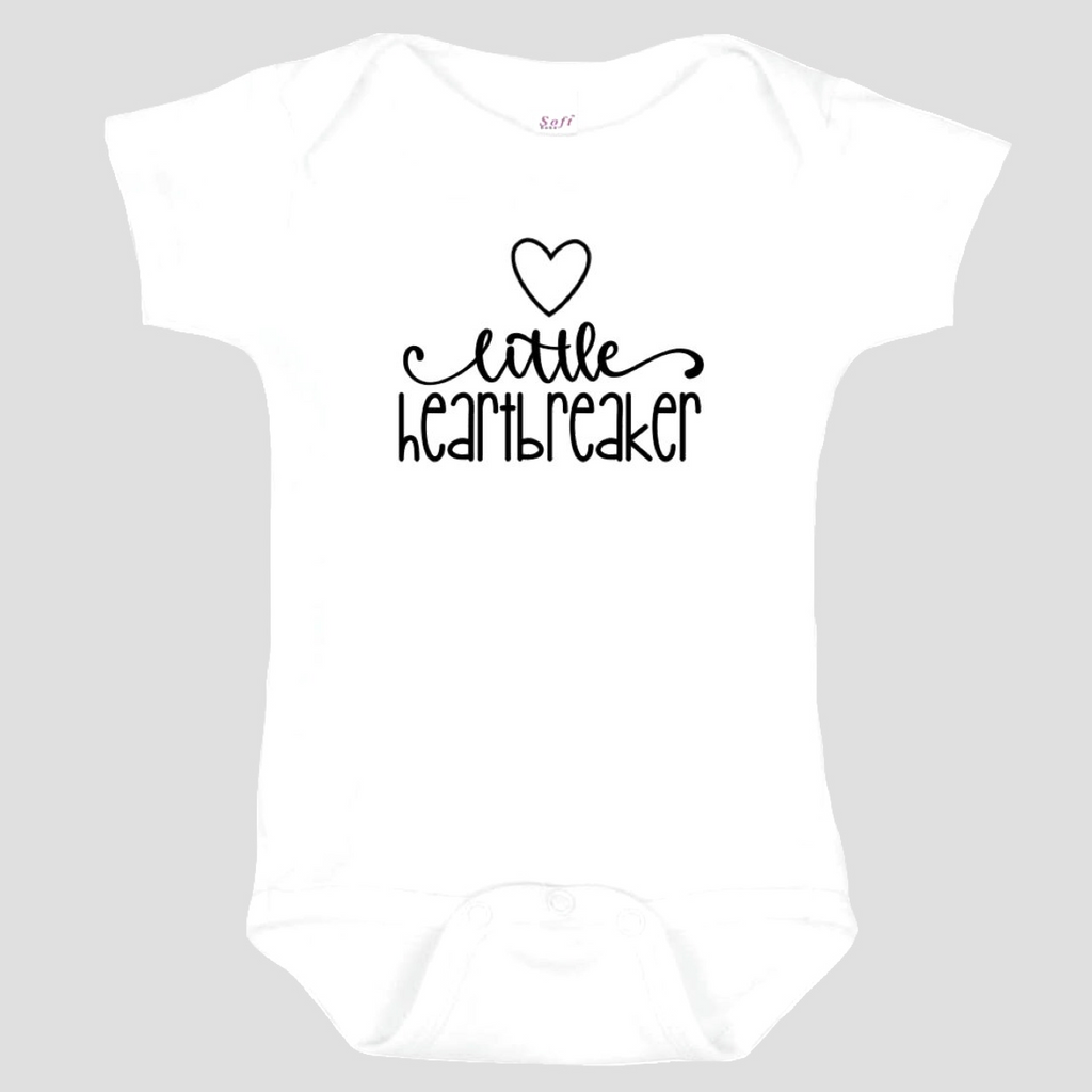 Baby Onesie: Little Heartbreaker