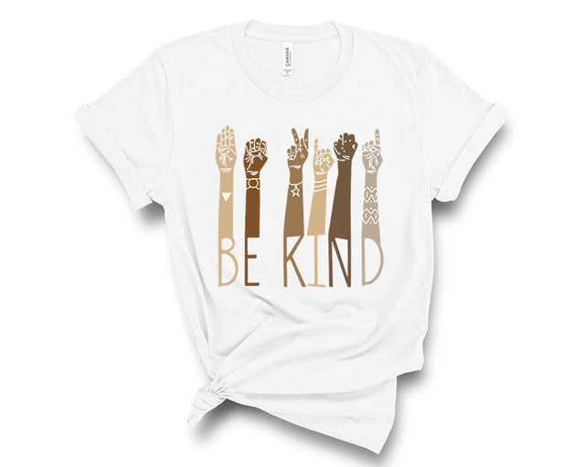 Be Kind Sign Language Tee