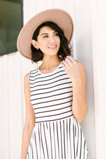 Beach Day Dress In Ivory