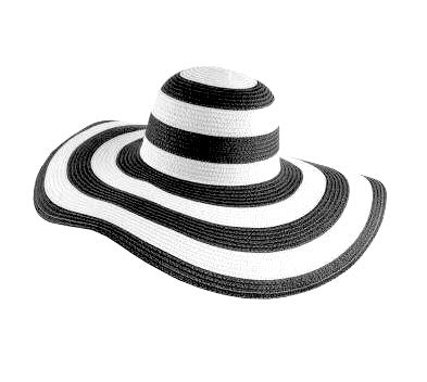 Striped Beach Hat |2 colors|