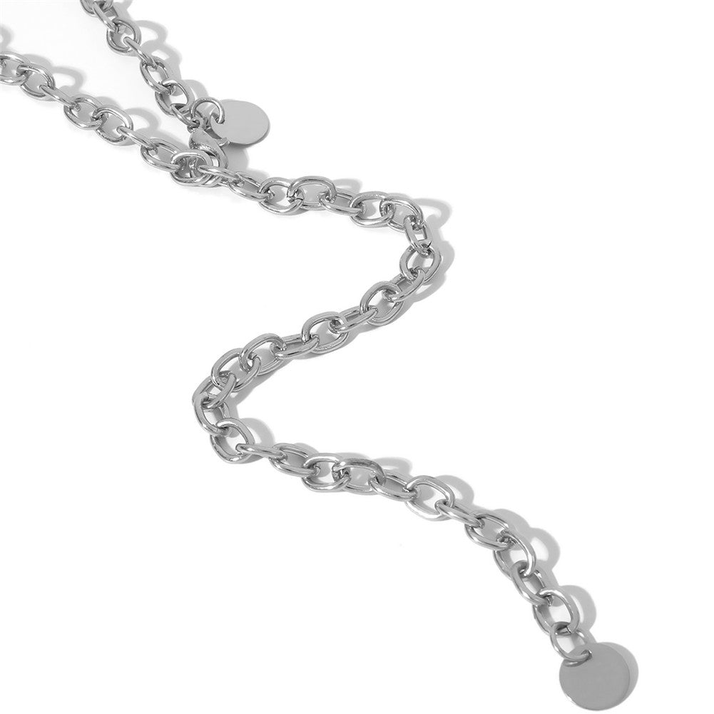 Fashion Jewelry Belt Chain Link | silver or gold |