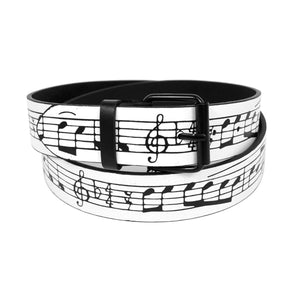 Music Notes Belt