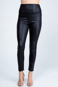 Casual Elegance Black Fancy Pants
