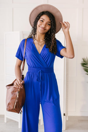 Consider This Wide Leg Jumpsuit