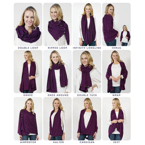 The 12-Way Wrap Shawl Scarf