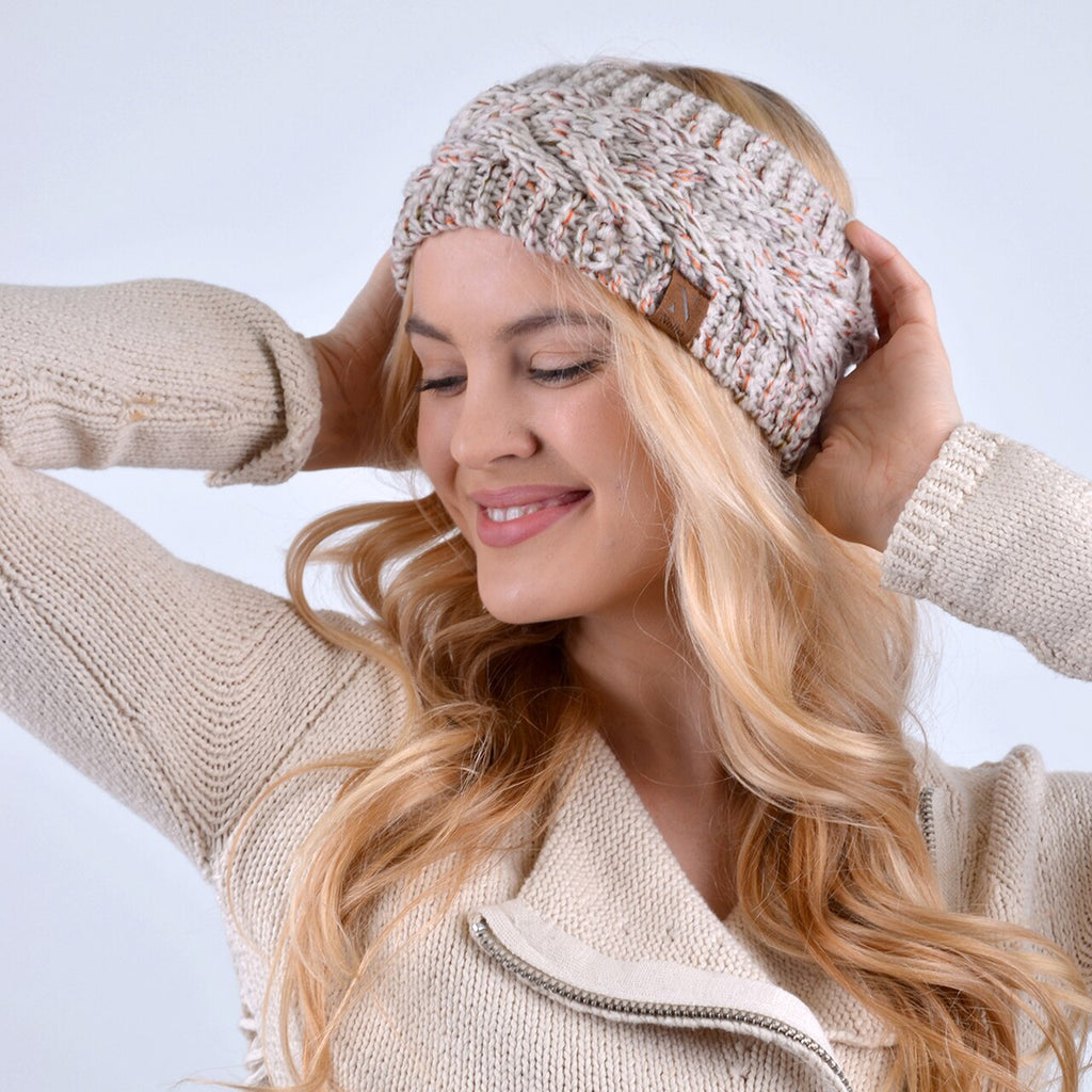 Cable Knit Headwrap