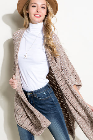 Sherry Chenille Cardigan