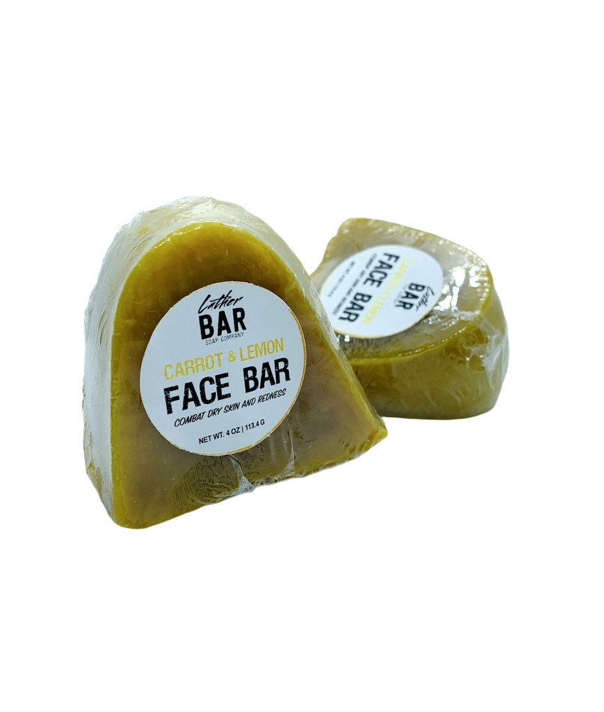 Carrot & Lemon Face Bar Soap