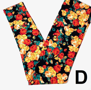 Printed Leggings TC Florals