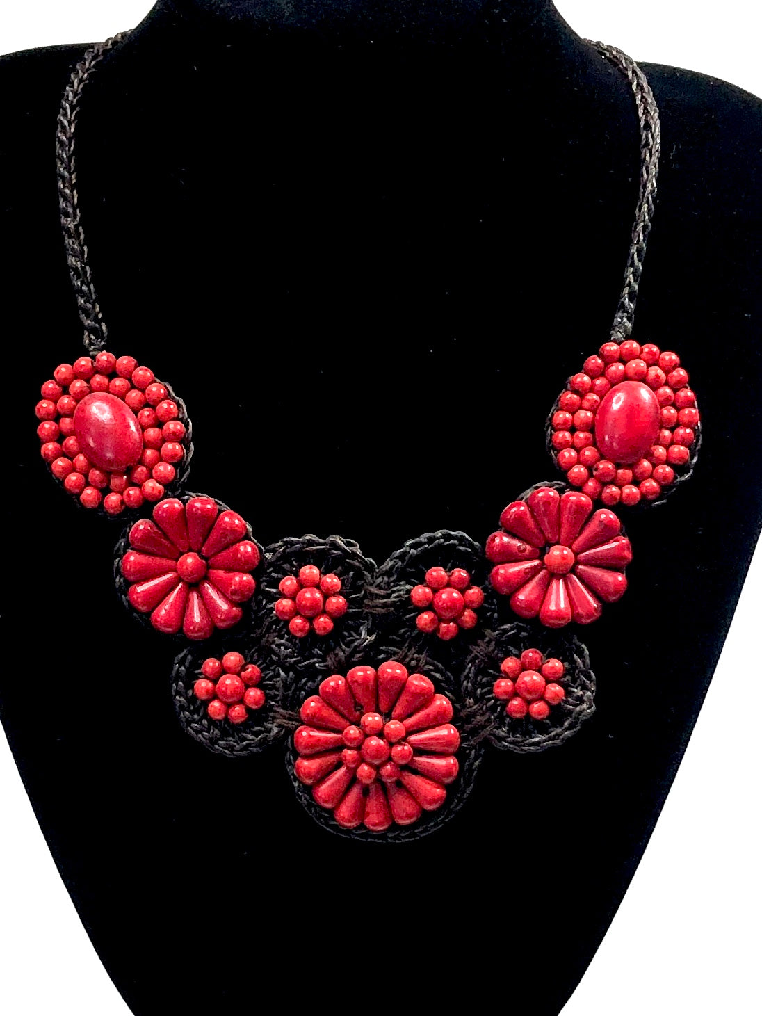 Boho Floral Necklace |2 colors|