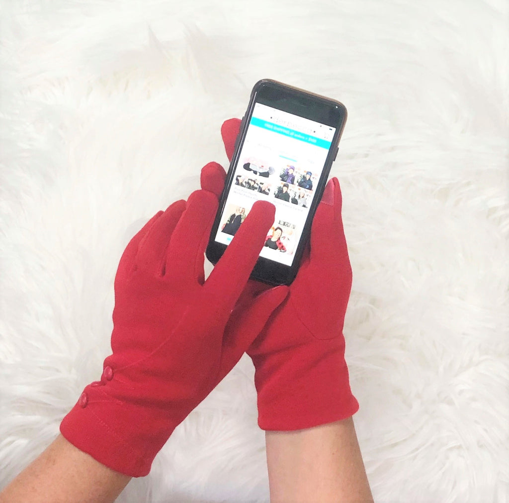 Solid Touch Screen Gloves | 6 colors |
