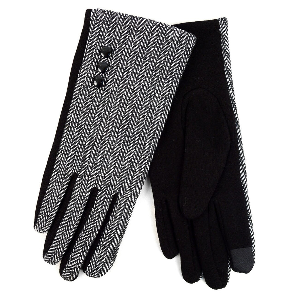 Herringbone Touch Screen Gloves