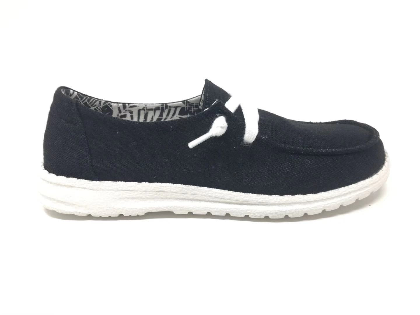 Gypsy Jazz Slip On Sneaker Black