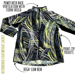 Determined Lightweight Fitness Jacket 2XL Lime