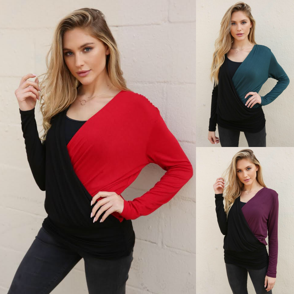 The Hottie LongSleeve Top |3 colors|