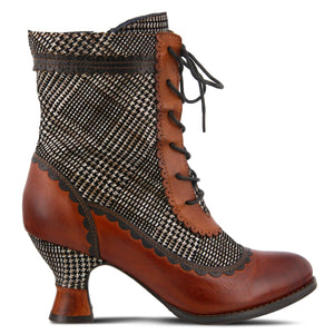 Bewitch-Plaid Bootie