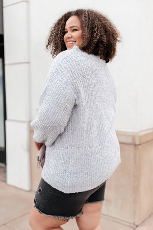 Off-The-Shoulders and So Simple Sweater