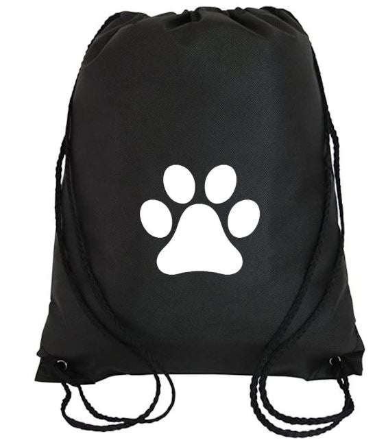 Cinch Bag: Paw Print