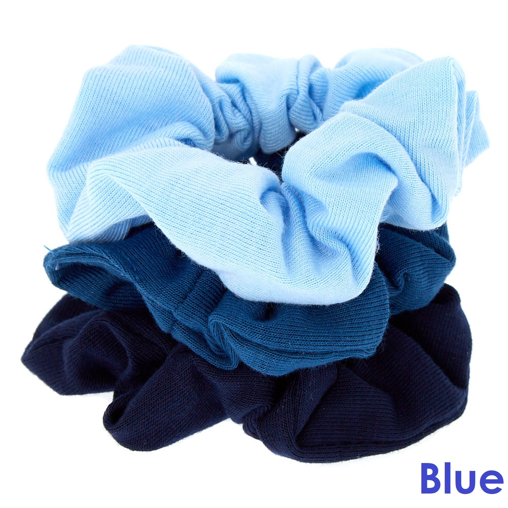 Scrunchie Hair Tie 3-pack Small