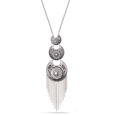 Tibet Tassel Necklace