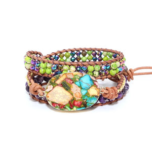 Calming Earth Wrap Bracelet