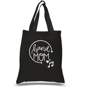 Tote Bag: Band Mom