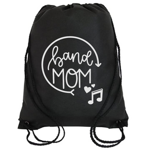 Cinch Bag: Band Mom