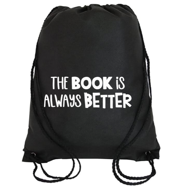 Cinch Bag: The Book is Always Better