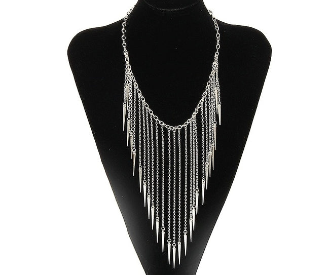 Waterfall Cascade Bib Necklace