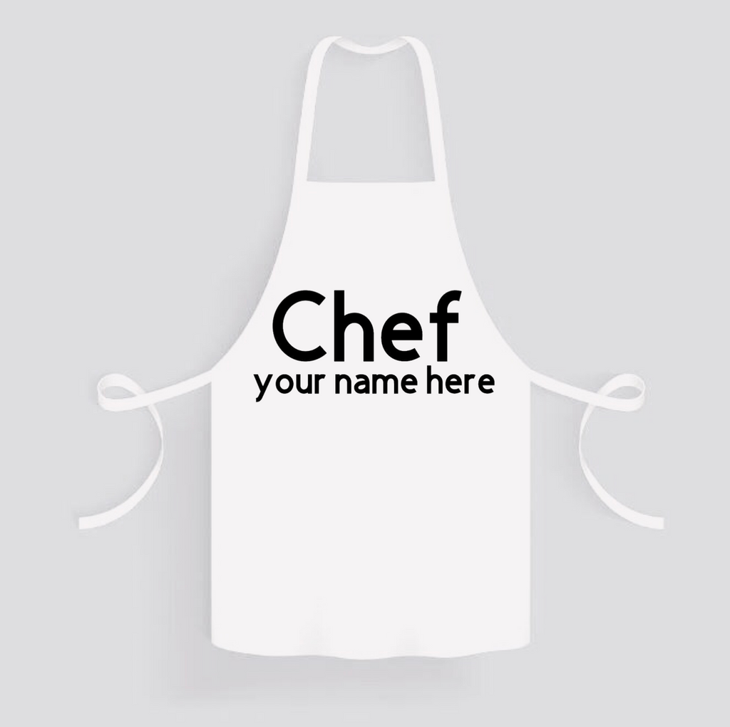 Apron: Personalized * Add your name